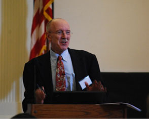 Dr. Yeomans speaking at the first meeting of the International Society for TFP, White Plains, NY, September 2011